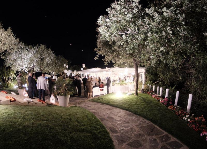 allestimenti di nozze villa gitana