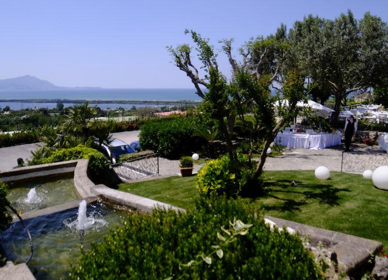 Location matrimoni con giardino - panorami