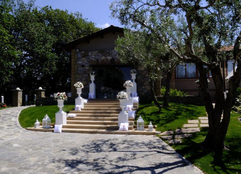 ingresso di villa gitana