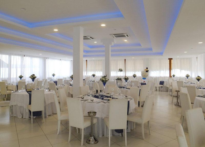 sala ricevimento per le nozze