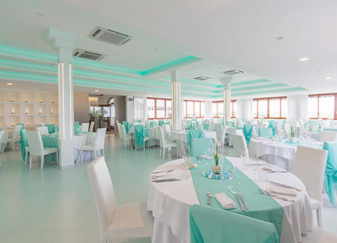 sala ricevimento matrimonio