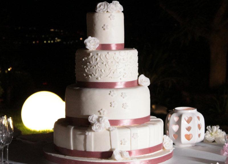 torta nuziale villa gitana