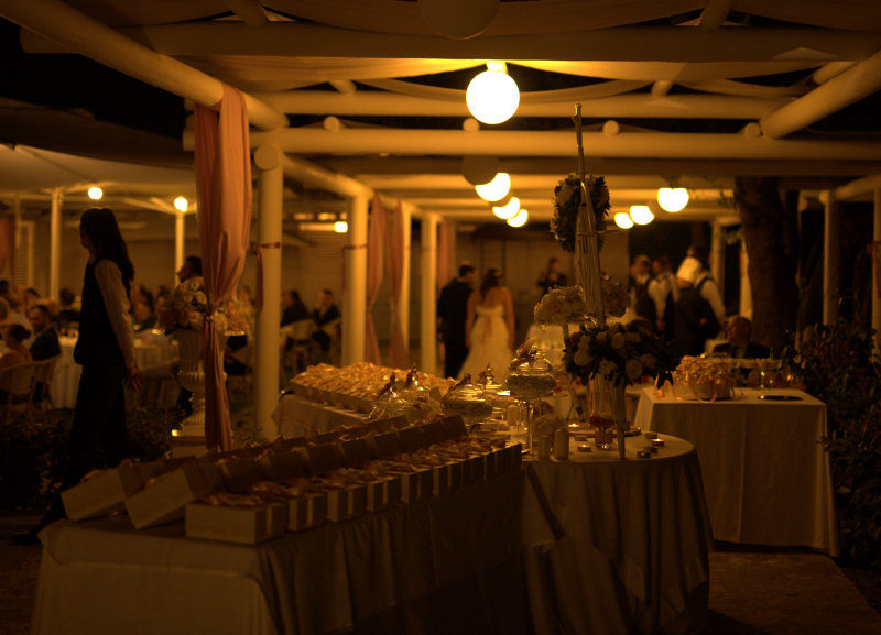 buffet matrimonio
