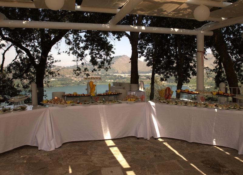buffet a Villa Gitana