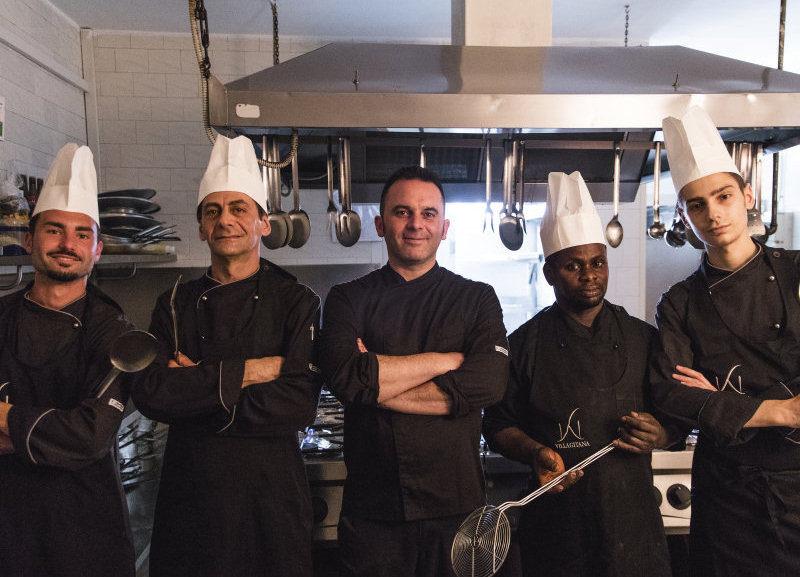 staff di cucina villa gitana