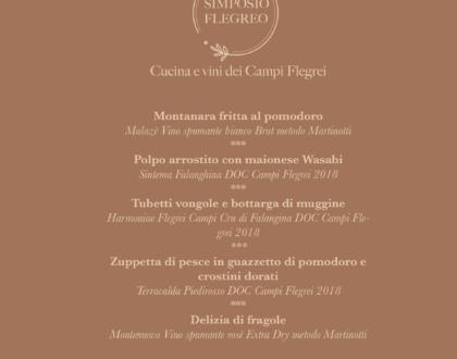 """Menù """"Flegreo e non solo"""""""